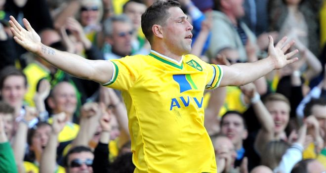 Grant Holt: Collected the Player of the Year award after win over Aston Villa