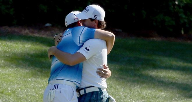 Rory McIlroy snd Sergio Garcia had a day to forget at the US Masters