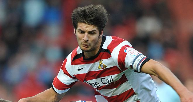 George Friend: Doncaster defender is talking to Middlesbrough after a fee was agreed