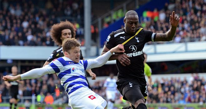 Ledley King: Tottenham defender has not featured since defeat to QPR at Loftus Road