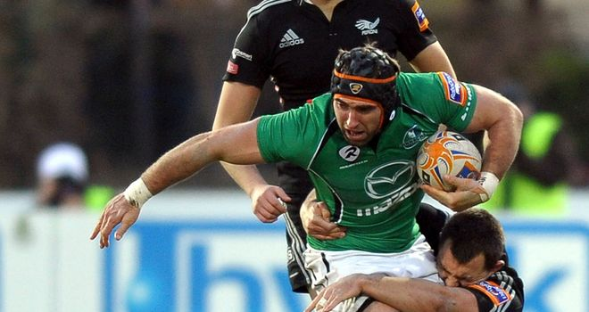 John Muldoon: one of Connacht's club captains for 2013/14
