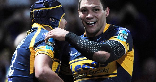 Ben Jones-Bishop: scored hat-trick of tries for Rhinos