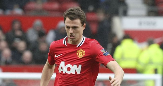 Jonny Evans: Manchester United defender is on course to be fit for the start of the season