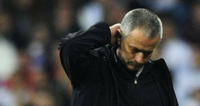 Jose Mourinho: Lost on penalties to Bayern Munich in the Champions League semi-finals