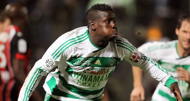 Kurt Zouma: Believed to be a QPR target but St Etienne will want a significant fee