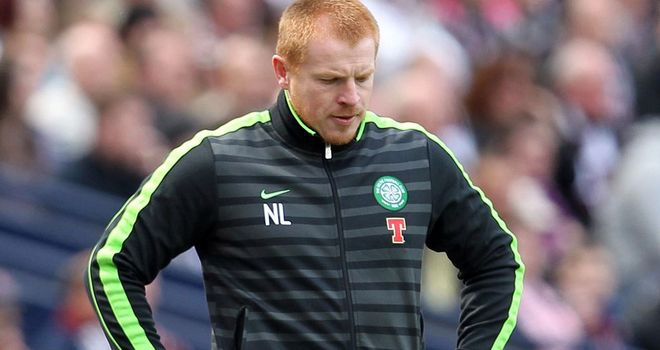 Neil Lennon: Celtic boss saw his side beaten by Stuttgart Kickers