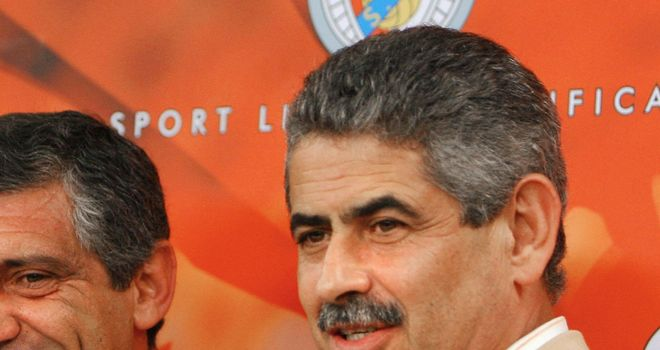 Luis Filipe Vieira: Benfica president ready to protest after Chelsea defeat