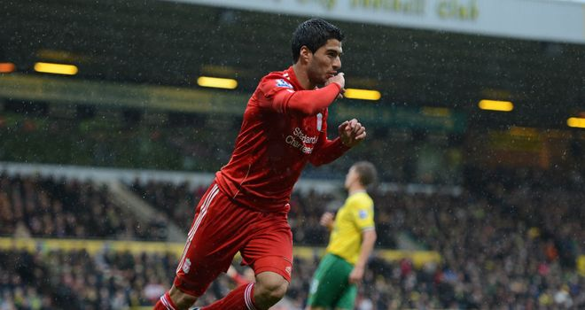 Luis Suarez: Looking to provide plenty of goals and assists in 2012/13