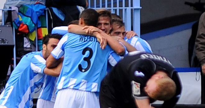 Malaga: Close to securing top four place