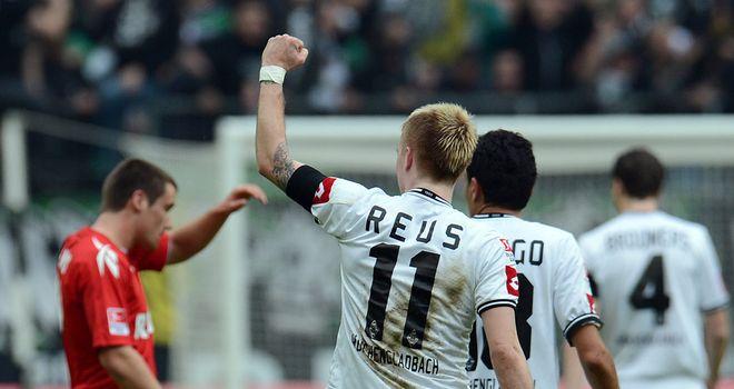 Marco Reus: Celebrates third goal for Borussia