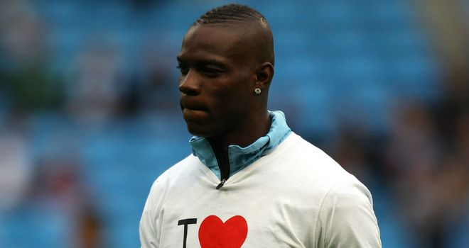 Mario Balotelli: Has reiterated his desire to stay at Manchester City