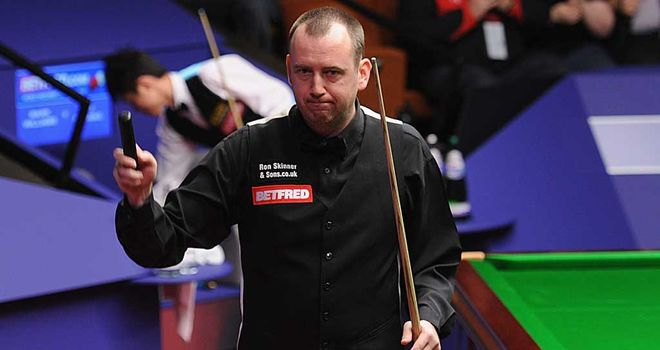 Mark WIlliams: Through to face O'Sullivan in round two