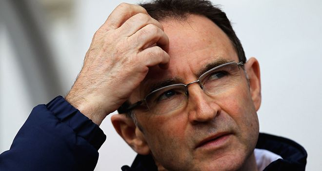 Martin O'Neill: Relieved his side ended a drought in draw with Sunderland
