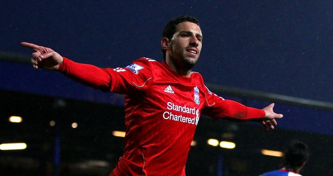 Maxi Rodriguez: Has 12 months left on his contract at Liverpool