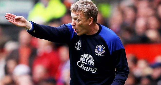 David Moyes: Aiming to finish as high as possible with Everton