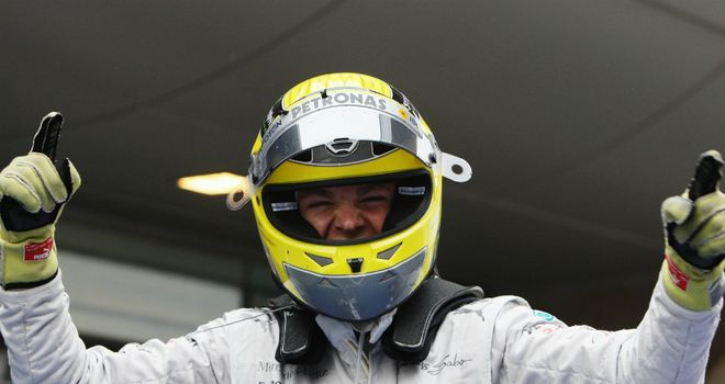 Nico Rosberg: Won at the 111th attempt