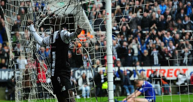 Papiss Cisse: Scored in the win over Bolton on Monday