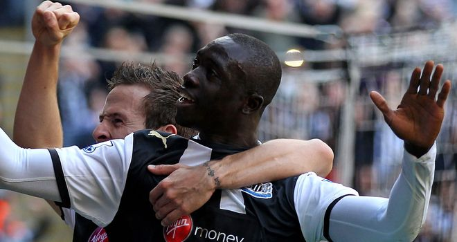 Papiss Cisse: Has no intention of leaving Newcastle this summer