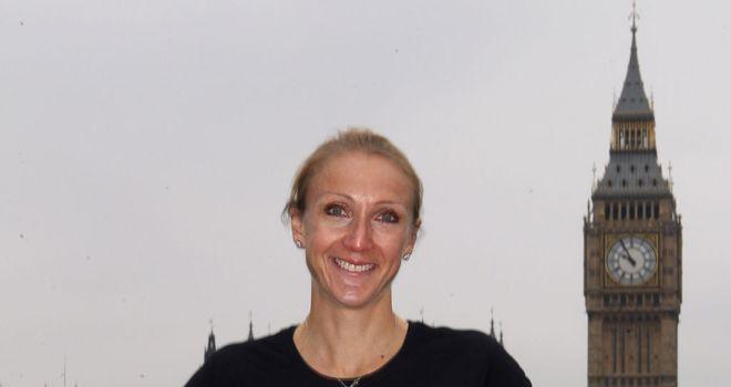 Paula Radcliffe: Hoping to stay healthy