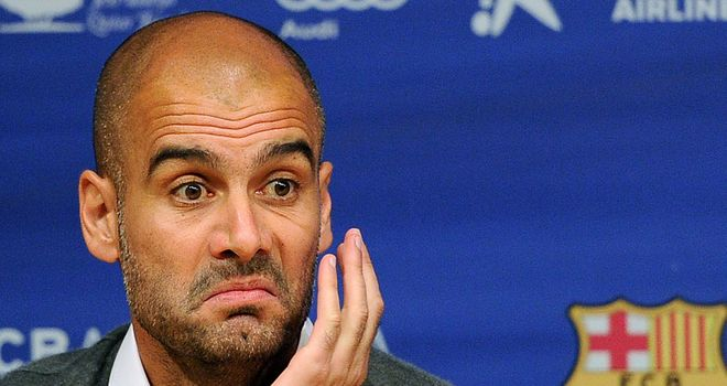 Pep Guardiola: Has denied having any contact with Chelsea