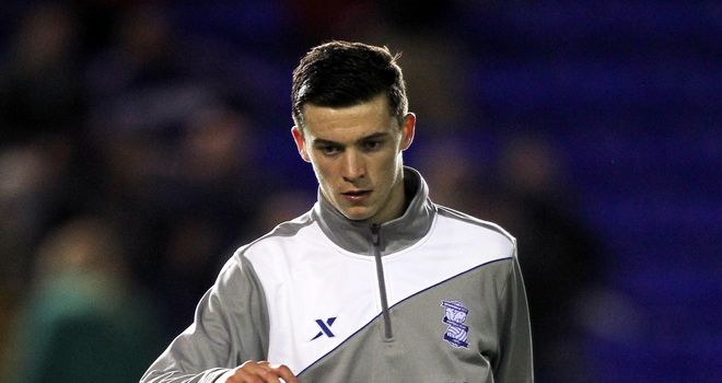 Callum Reilly: Impressing at Birmingham City