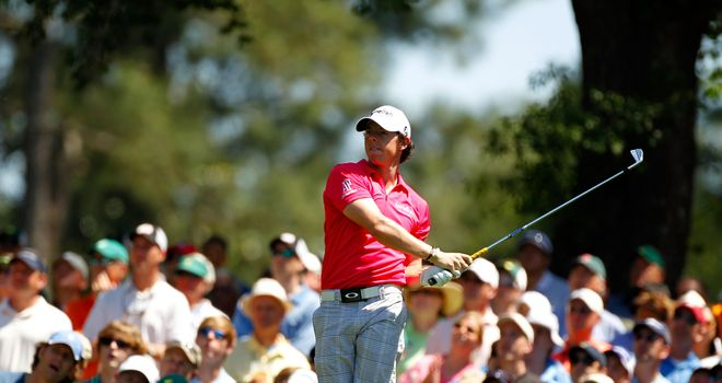 Rory McIlroy: 77 and 76 on the weekend at Augusta