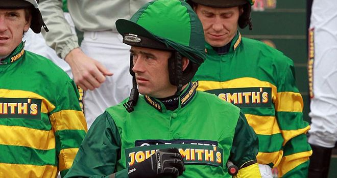 Ruby Walsh: Returned to action with a winner