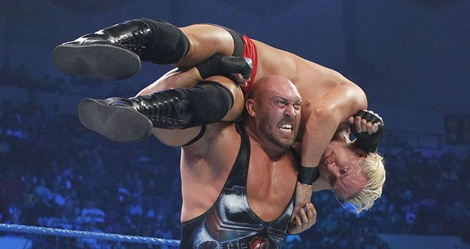 Ryback: Big Hungry lost to Punk after a low blow from the referee