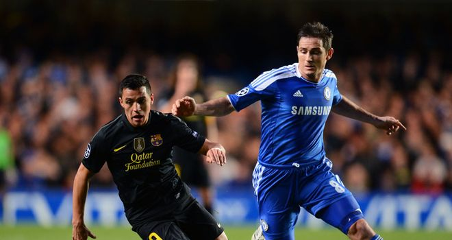 Age concern: almost a decade separates Sanchez and Lampard