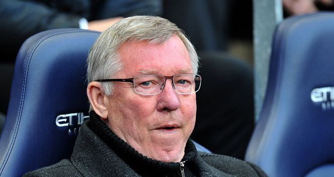 Sir Alex Ferguson: Left to rue the dropped points against Everton last month