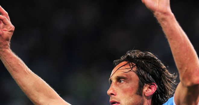 Stefano Mauri: Gave Lazio the advantage over Juventus