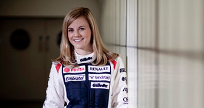 Susie Wolff - Picture courtesy of Williams F1