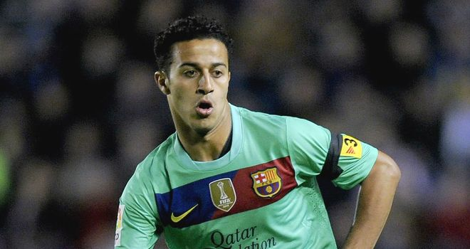 Thiago Alcantara: Set to begin pre-season training with Barcelona