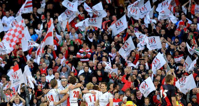 Ulster: won to set up all-Irish final