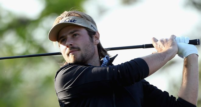 Victor Dubuisson: Overcame windy condition in South Korea
