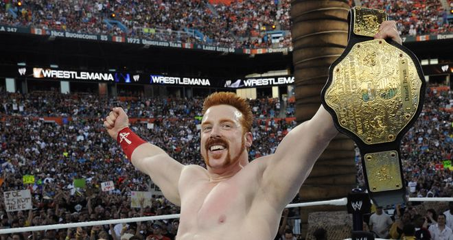 Sheamus: the Irishman has enjoyed a near seven-month reign as World Heavyweight Champion