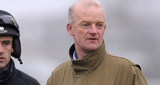 Willie Mullins: Believes Twinlight faces a tough task
