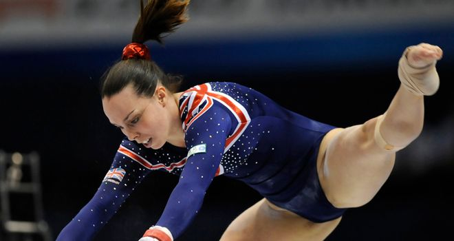 Beth Tweddle: Will lead the women's artistic gymnastics team in 2012