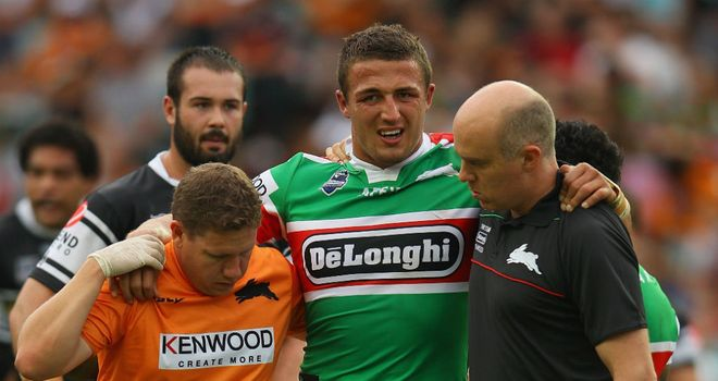 Sam Burgess: Loving life in Sydney