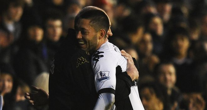 Clint Dempsey: Martin Jol would like to keep hold of the free-scoring ace