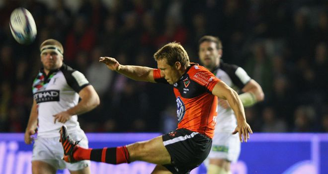 Jonny Wilkinson: Unerring once again with the boot