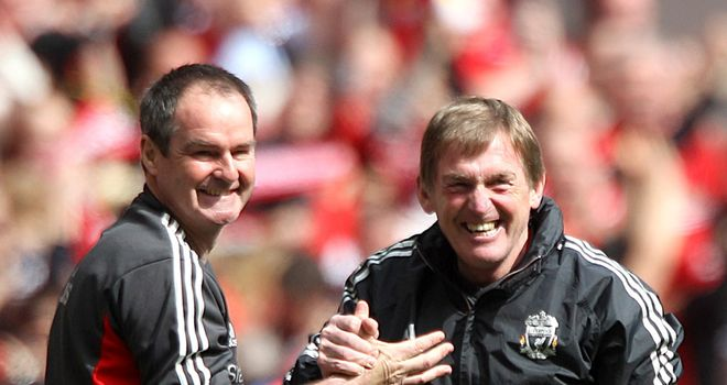 Kenny Dalglish: Looking forward to a second cup final this season after Saturday's win over Everton