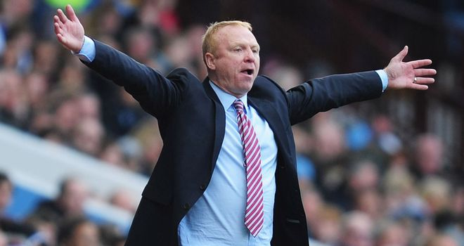 Alex McLeish: Takes charge of Nottingham Forest for the first time