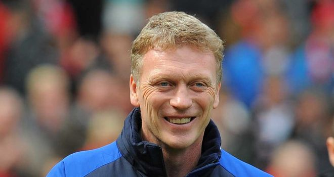 David Moyes: Praised the impact made by Nikica Jelavic and Steven Pienaar following their 4-0 win over Fulham