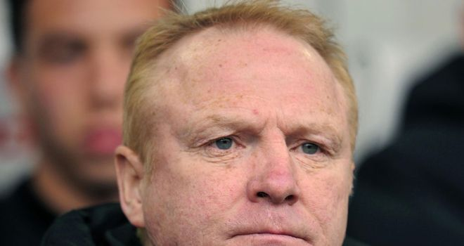 Alex McLeish: Aston Villa manager targets one win out of next two matches