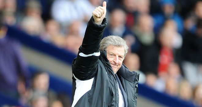 Roy Hodgson: Will not be looking to wield the axe in the summer despite reports of a clearout