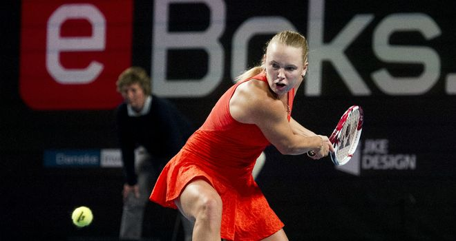 Caroline Wozniacki: former world number one is without a WTA Tour title for eight months