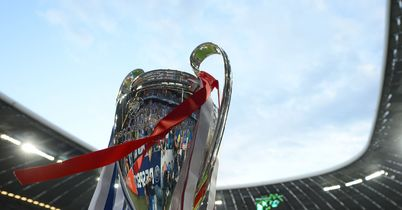 Champions League trophy: Line-up for the knockout stages is now complete