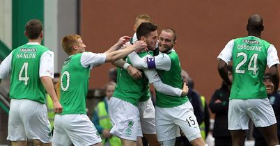 Doherty: Celebrates his goal