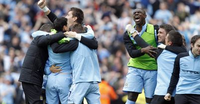 Manchester City: Joy at final whistle